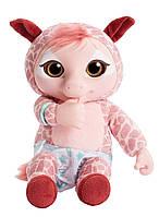 Мягкая интерактивная игрушка - жираф Animal Babies Electronic Baby Monkey Plush