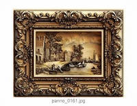 """Картина резная из дерева """"Мост"""""""