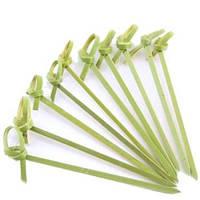 Палочки бамбуковые с узелком 10 см 100 шт/уп