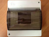 Корпус пластиковый наружный 6 модуля с крышкой IP 20