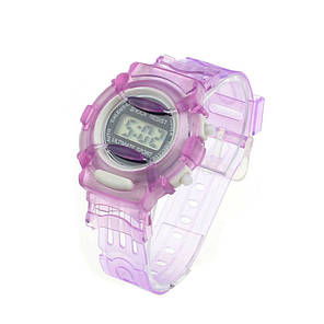 Часы наручные детские электронные Ultimatum Sport Purple, фото 2