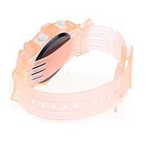 Часы наручные детские электронные Ultimatum Sport hellorange, фото 2