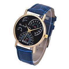 Годинники кварцові наручні Messung blau