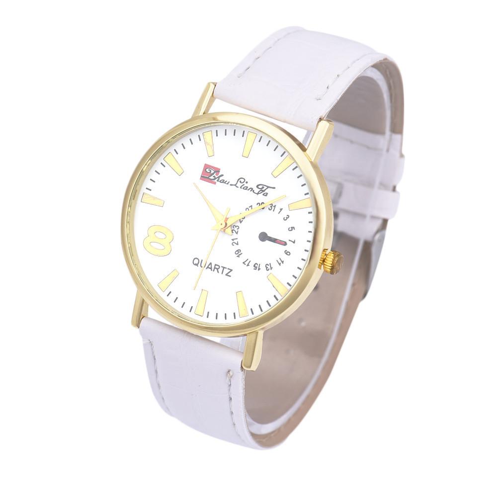Часы наручные кварцевые LianGo Acht white