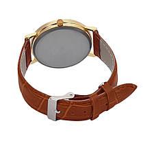 Часы наручные кварцевые LianGo Acht braun, фото 2