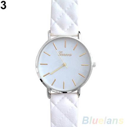 Часы наручные кварцевые Rombo white, фото 2