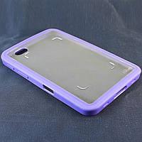 Чехол-Накладка для Samsug Galaxy Tab P1000, Фиолетовый /case/кейс /галакси таб