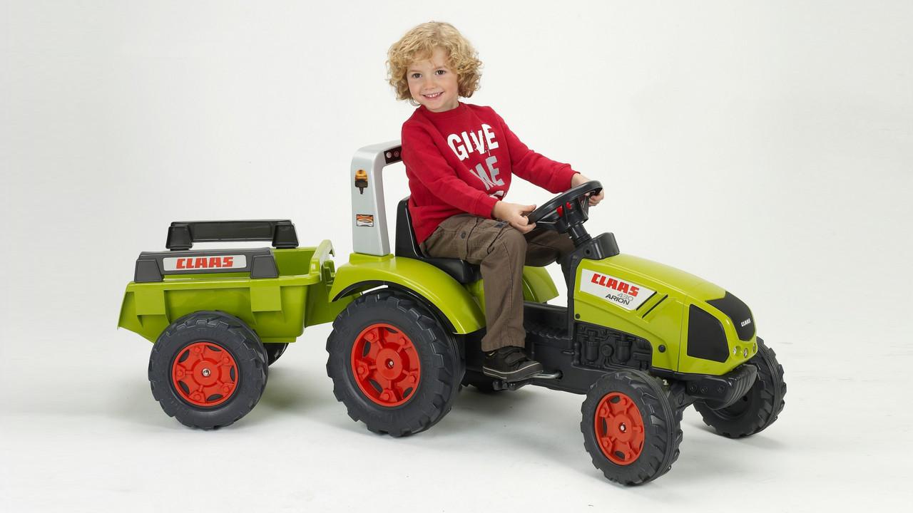 Детский трактор на педалях Falk 1040B Claas Arion 430