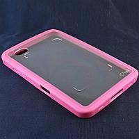 Чехол-Накладка для Samsug Galaxy Tab P1000, Розовый /case/кейс /галакси таб