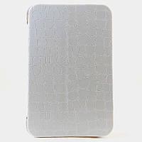 Чехол-книжка для Samsung Galaxy Tab, P1000, боковой, Белый /flip case/флип кейс /самсунг галакси
