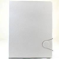 Чехол-книжка для Apple iPad 2, iPad 3, iPad 4, с застежкой, Белый /flip case/флип кейс /айпад