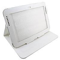 Чехол-книжка для Samsung Galaxy Note 10.1, N8000, GT-N8010, GT-N8013, GT-N8020, Mcontact, Белый /flip case/флип кейс /самсунг галакси