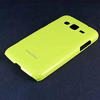 Чехол-накладка для Samsung Galaxy Core Advance, i8580, пластиковый, Buble Pack, Лайм /case/кейс /самсунг, фото 1