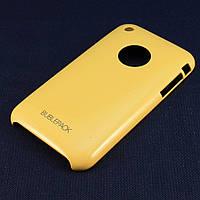 Чехол-накладка для Apple iPhone 3G, 3Gs, пластиковый, Buble Pack, Желтый /case/кейс /айфон