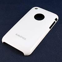 Чехол-накладка для Apple iPhone 3G, 3Gs, пластиковый, Buble Pack, Белый /case/кейс /айфон