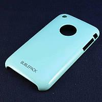 Чехол-накладка для Apple iPhone 3G, 3Gs, пластиковый, Buble Pack, Бирюзовый /case/кейс /айфон