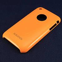 Чехол-накладка для Apple iPhone 3G, 3Gs, пластиковый, Buble Pack, Оранжевый /case/кейс /айфон