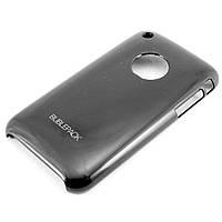Чехол-накладка для Apple iPhone 3G, 3Gs, пластиковый, Buble Pack, Черный /case/кейс /айфон