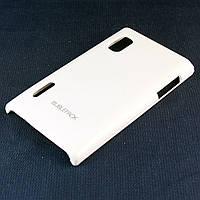 Чехол-накладка для LG L5, E610, E612, E615, пластиковый, Buble Pack, Белый /case/кейс /лж, фото 1