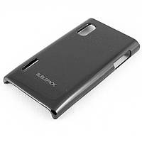 Чехол-накладка для LG L5, LG E610, LG E612, LG E615, пластиковый, Buble Pack, Черный /case/кейс /лж, фото 1