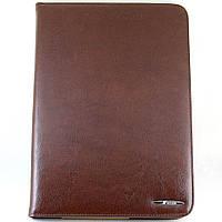 Чехол-книжка для Samsung Galaxy Note 10.1, N8000, GT-N8010, GT-N8013, GT-N8020, кожаный, с держателем, Nosson, Коричневый /flip case/флип кейс /самсун