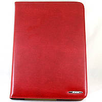Чехол-книжка для Samsung Galaxy Note 10.1, N8000, GT-N8010, GT-N8013, GT-N8020, кожаный, с держателем, Nosson, Красный /flip case/флип кейс /самсунг г