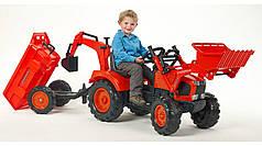 Детский трактор на педалях KUBOTA M135GX Falk 2090Z
