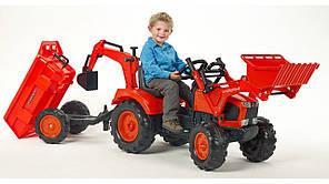 Детский трактор на педалях KUBOTA M135GX Falk 2090Z, фото 2