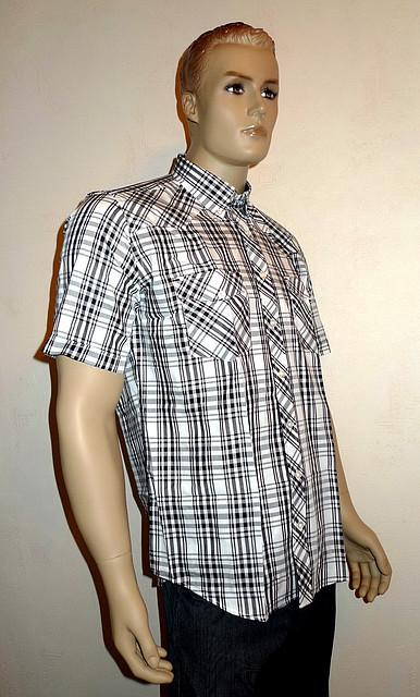 Рубашка AYGEN  в клетку короткий рукав