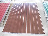 Профнастил металлопрофиль RAL 8017 1185/1500мм
