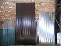 Профнастил металлопрофиль RAL 8017 1185/2000мм
