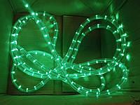Дюралайт круглый Feron LED 2WAY зелёный