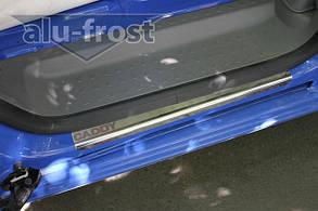 Накладки на пороги Volkswagen Caddy 3 2004+