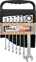 Набор ключей с трещоткой YATO YT-0208 (7 единиц), фото 1