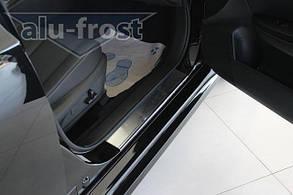 Накладки на пороги Subaru Legacy 5 2009+