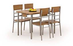 Кухонный комплект Halmar NATAN+ 4 кресла