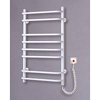 Полотенцесушитель электрический для ванной Стандарт-8 (белый)