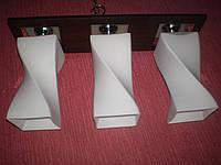 Люстра на 3 лампочки для низких потолков  P3-1173B/3/DK+MK (4шт. - ящ.)