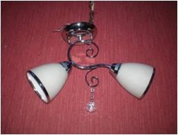 Люстра на 6 лампочек для низких потолков AB (античная бронза)  P3-36701/6/AB+WT (4шт. - ящ.)