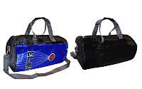 Сумка спортивная Боченок DUFFLE BAG ZEL GA-4117 (PL, р-р 49х25х25см, синий, красный, т.синий)