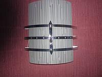 Бра для прихожей и ванной комнаты на две лампочки  P3-3515C/2W/CR (10шт. - ящ.)