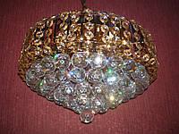 Хрустальные люстры не классические FG (золото)    P5-E0671/7