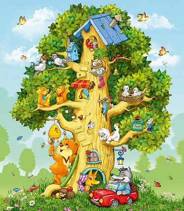 Фотообои, Лесной дом Люкс, 20 листов, размер 276х240см, фото 2