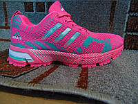 Женские беговые кроссовки Adidas Marathon TR 13 розовые 35-39, фото 1