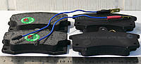 Колодка тормозная ВАЗ 2110 передняя с  электронным сигнализатором (комплект 4шт.) (пр-во BEST)