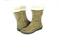 Женские сапоги makas 209.12кор коричневые   зимние