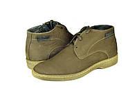 Мужские ботинки mida 14918нуб.ч коричневые   зимние , фото 1