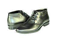 Мужские ботинки faro 320 байка черные   весенние
