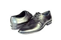 Мужские туфли faro 512-081 черные   весенние