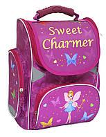 """Ранец школьный каркасный ортопедический """"Sweet Charmer"""" Cool For School CFS85665 модель 702"""